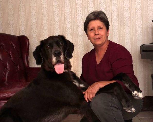 Becky Brandenburg, certified animal massage therapist